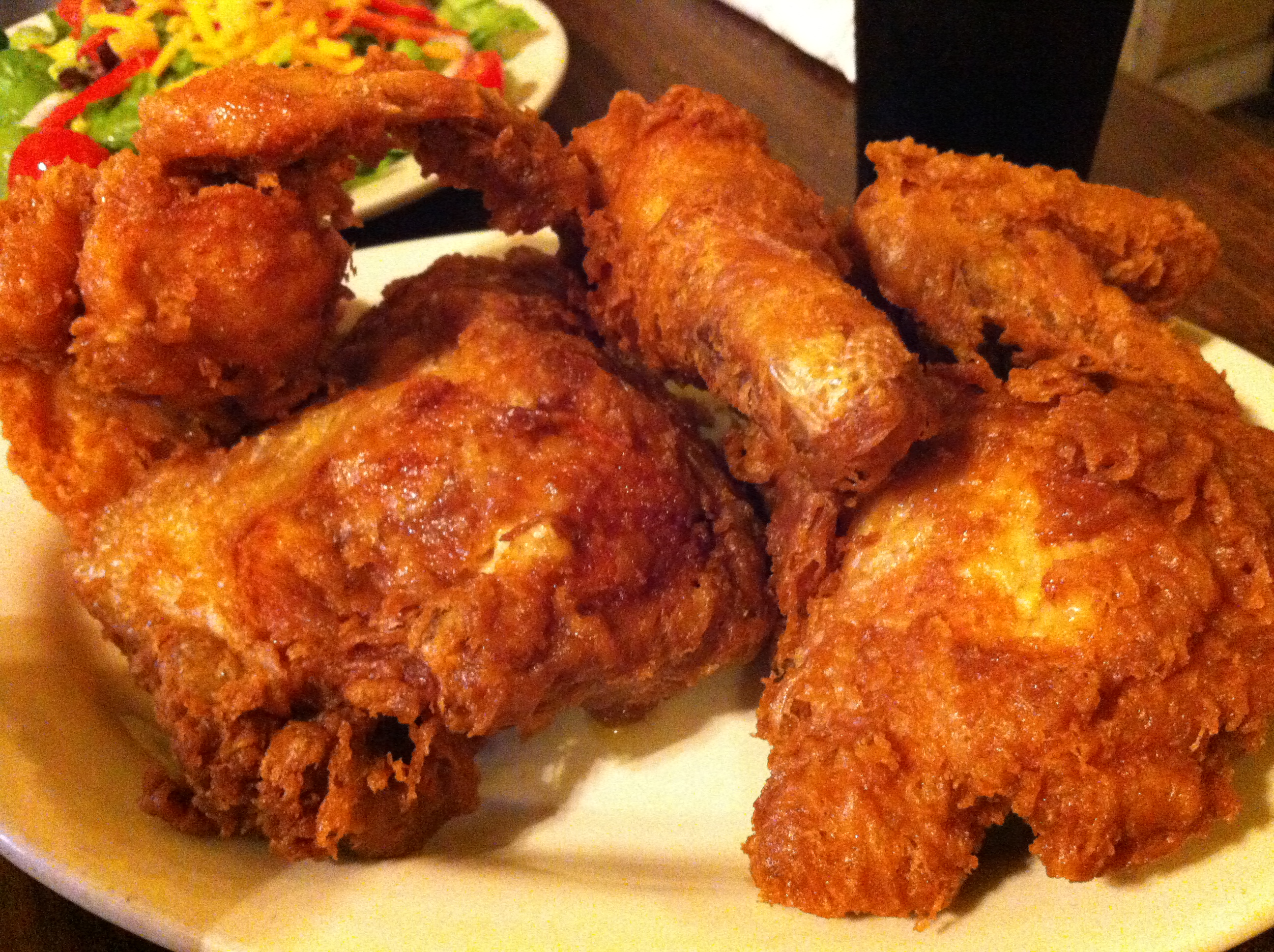 Fried Chicken: Fried Chicken At Willie Mae's Scotch House, New Orleans
